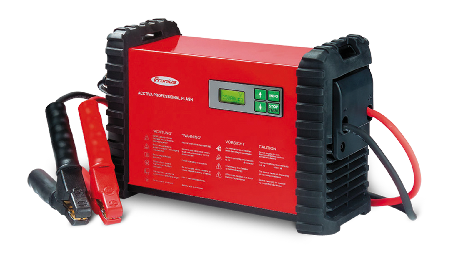 Battery chargers for workshop use