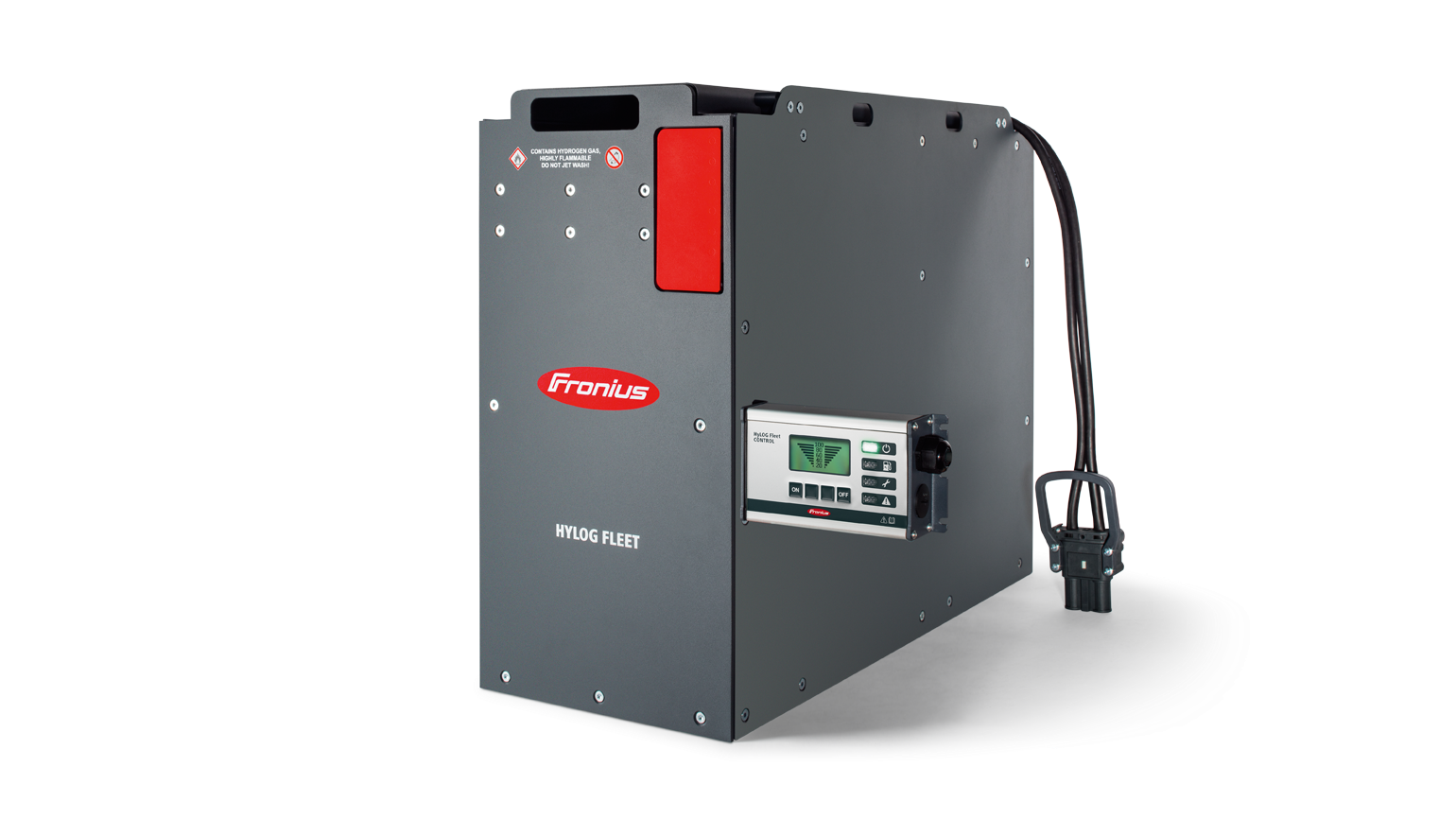 ... a fuel cell instead ensures a reliable energy supply. The application  possibilities in mobile, industrial applications range from forklift trucks  for ...