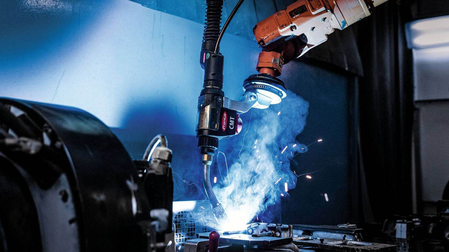 Robotic Welding With The Cmt Welding Process Magazine