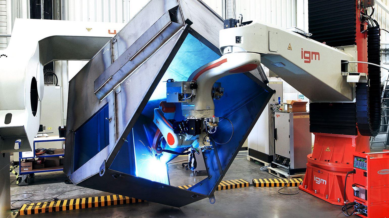 Partnership with igm Roboterysteme | The Magazine