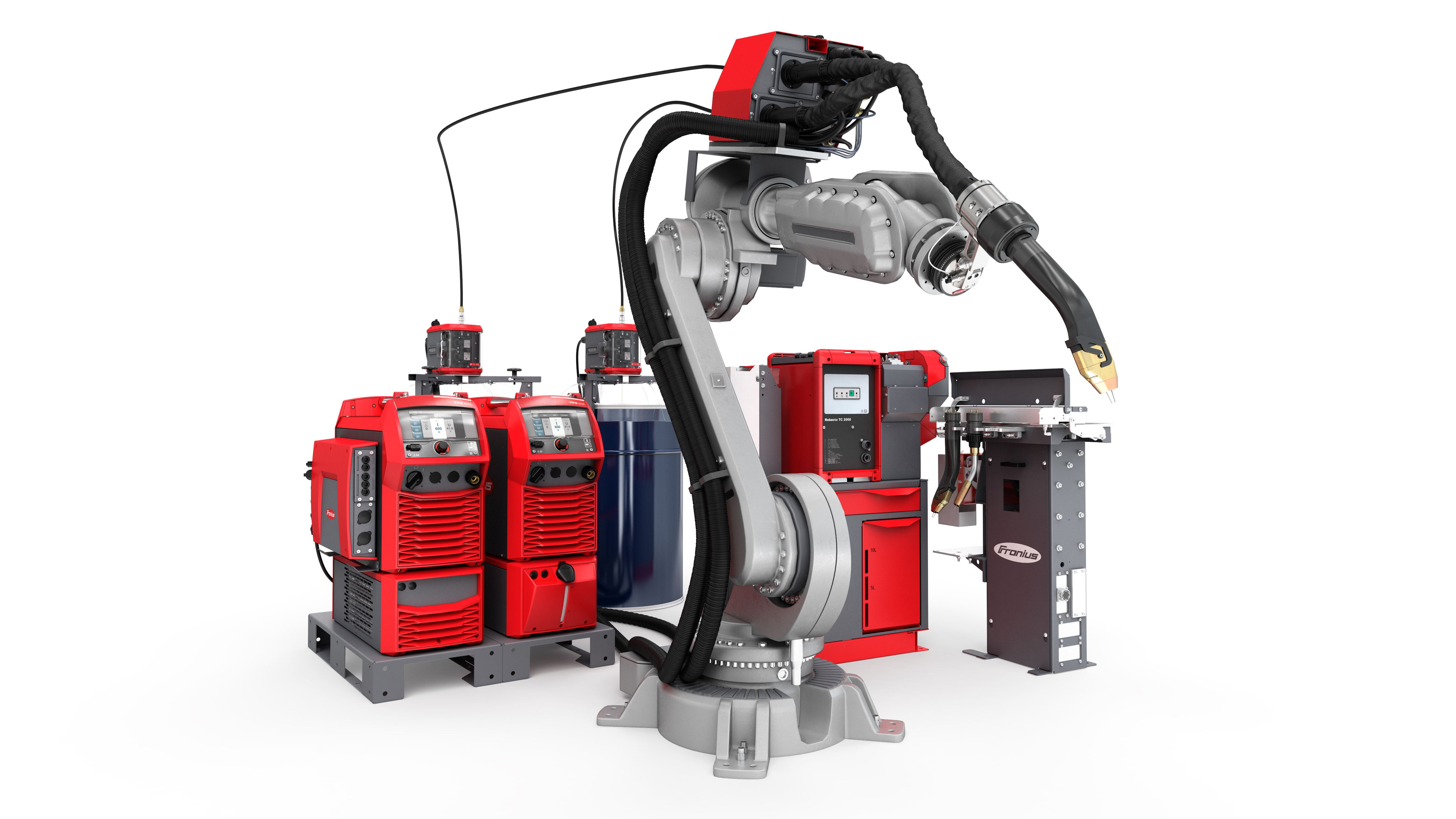 TPS/i TWIN Push Tandem Welding from Fronius for Increased Efficiency