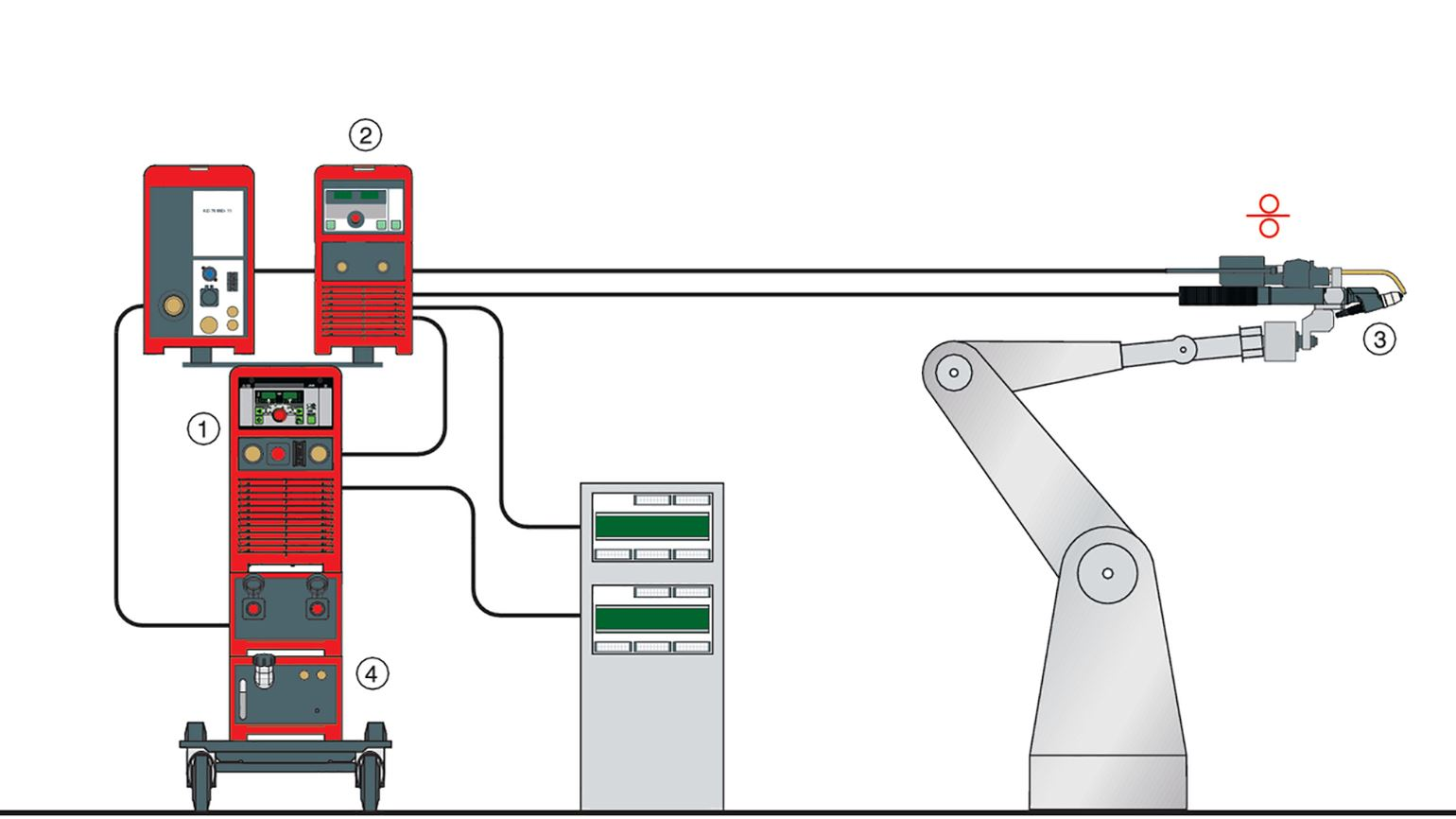 Plasma Spot Welding Machine Diagram Example Of A Soft Brazing System