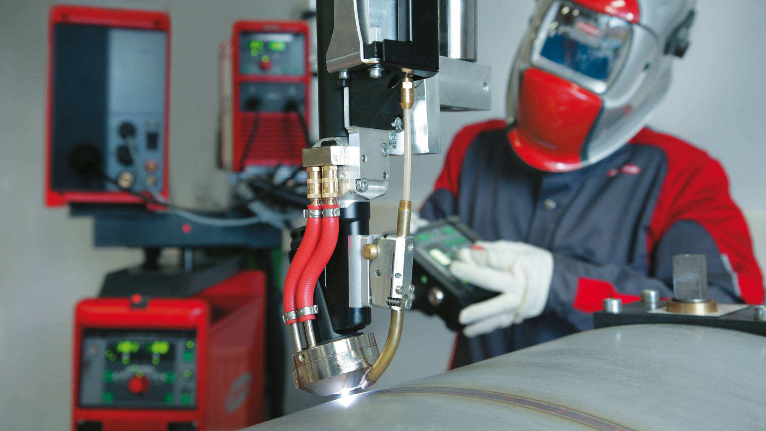 Plasma welding:the highest level of quality