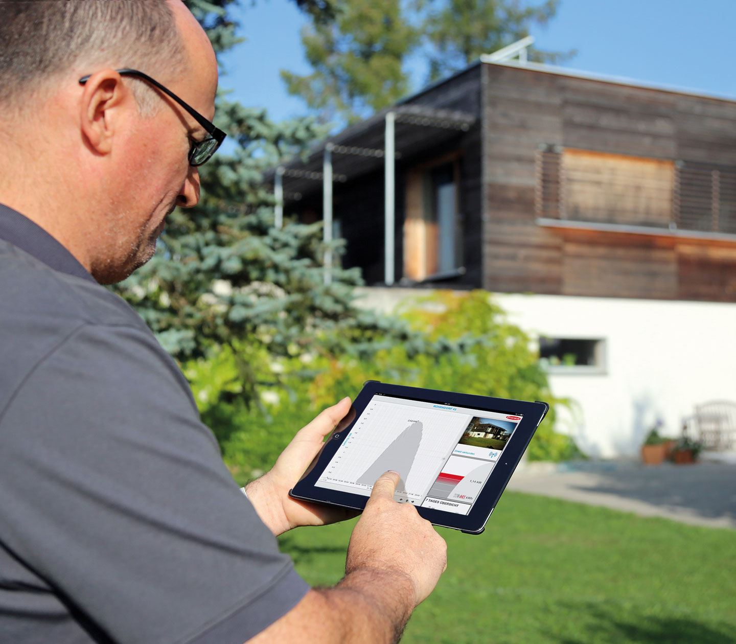 monitoring and analysis solar energy fronius. Black Bedroom Furniture Sets. Home Design Ideas